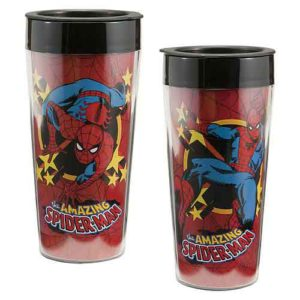 Spiderman-plast-mugg