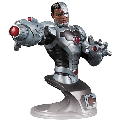 Justice-League-New-52-Cyborg-Bust