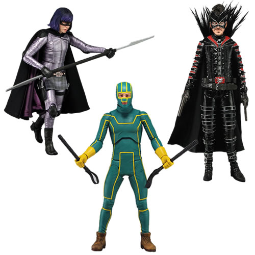 Kick Ass 2 actionfigurer