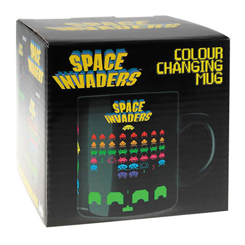 Rolig space invaders mugg