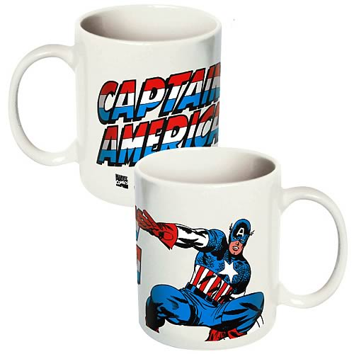 Cool Captain America mugg