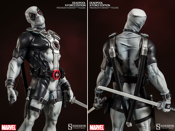 deadpool x-force sideshow collectibles