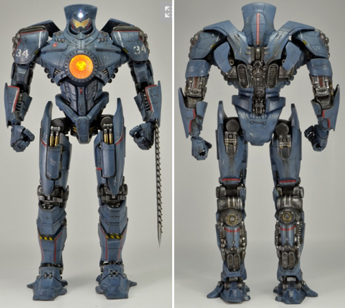 pacific rim - jaeger actionfigur
