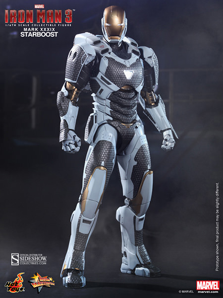 Hot Toys Iron Man Starboost figur
