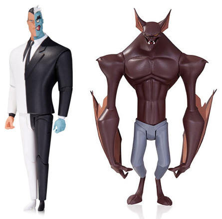 Batman actionfigur twoface manbat