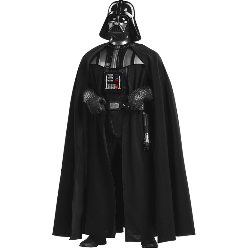 Darth Vader Deluxe Actionfigur – Episode VI ROTJ 1/6