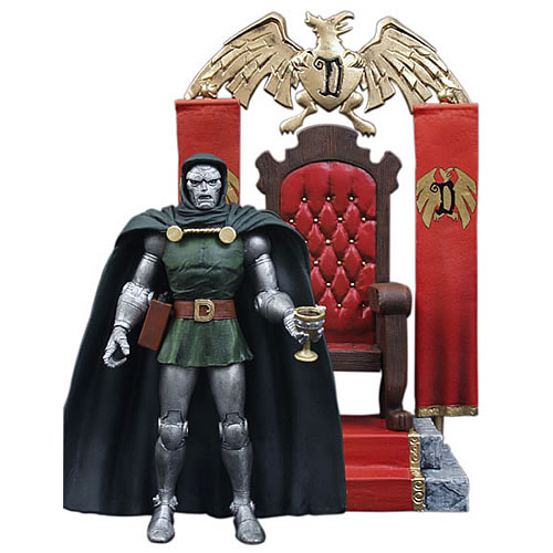 Dr Doom Actionfigur – Marvel Select