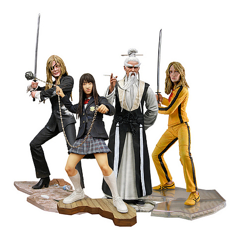 Coola Kill Bill prylar actionfigurer