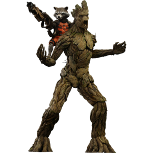 Guardians of the Galaxy Hot Toys samlarfigurer