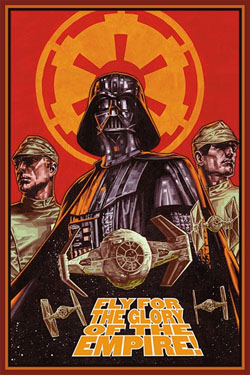 Star Wars Poster – Fly for the Glory