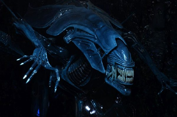 Cool Aliens Queen actionfigur från Neca