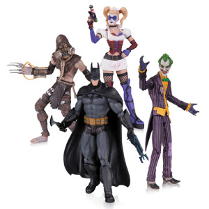 Batman Arkham Aylum Figurer