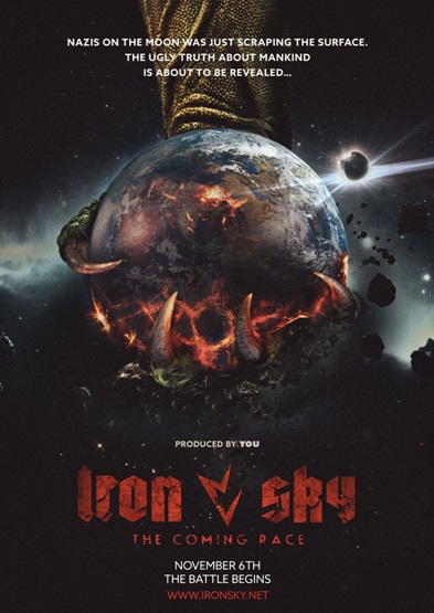 iron sky 2 coming race poster