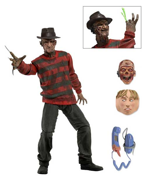 Ultimate Freddy Kruger actionfigur Nightmare on Elm Street