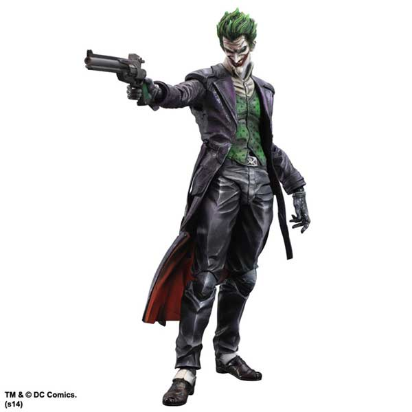 Joker figur – Batman Arkham Origins Play Arts Kai