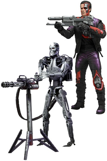 RoboCop vs The Terminator – Terminator actionfigur