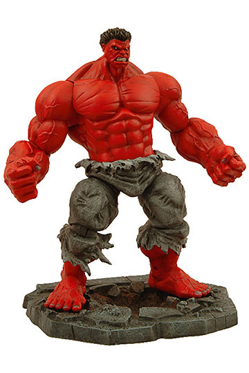 Red Hulk actionfigur – Marvel Select
