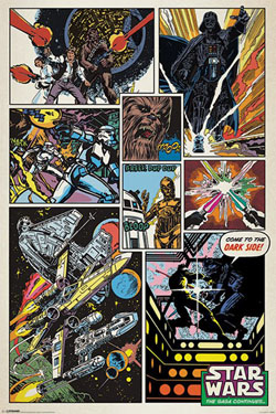 Star Wars retroposters 5-pack