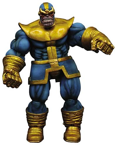 Thanos actionfigur – Marvel Select
