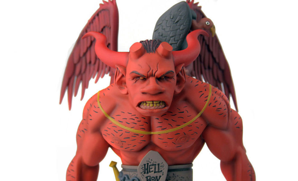 The First Hellboy 1:6 Scale Staty