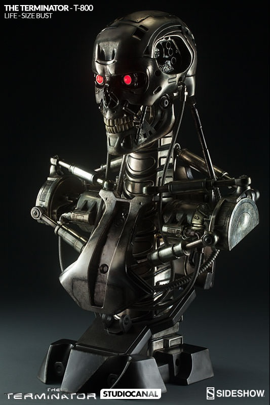 Terminator-T-800-Life-Size-Byst