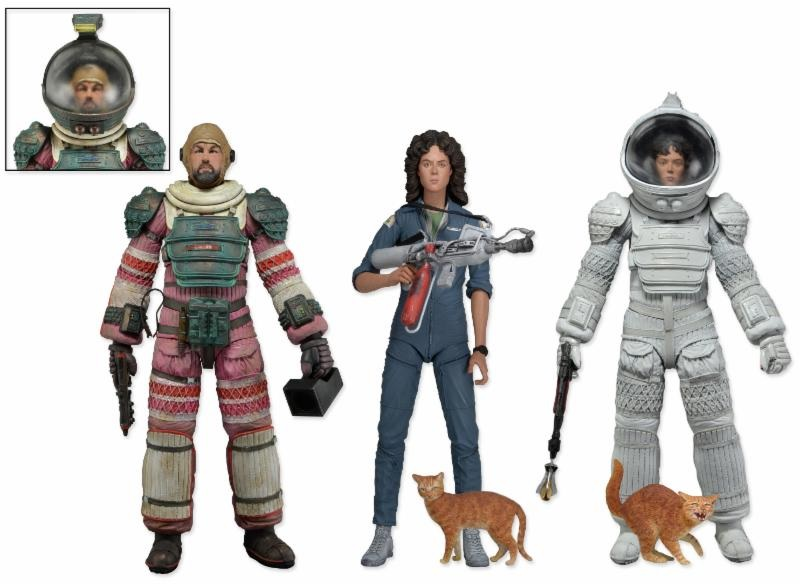 Alien actionfigurer – Orginalfilmen version 4