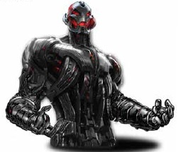 Avengers 2 Ultron byst spargris