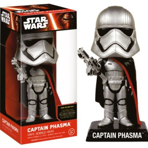 Captain-Phasma-Bobble-Head-samlarfigur
