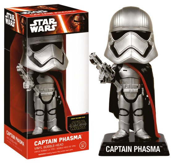 CAPTAIN PHASMA VINYL BOBBLE HEAD