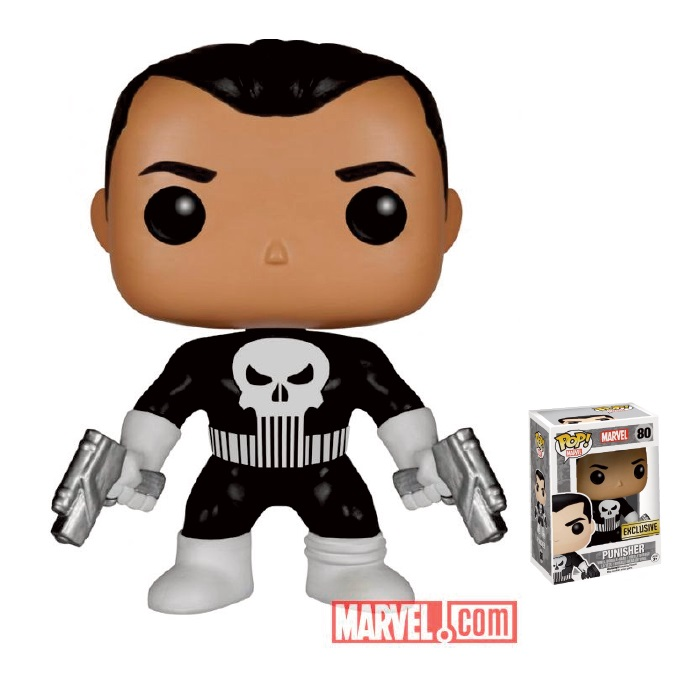 Punisher pop vinylfigur – Exlcusive