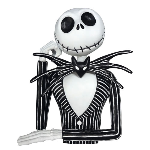 Jack Skellington Bust Bank sparbössa