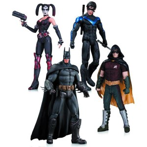 Batman-arkham-city-actionfigurer-4-pack