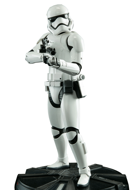First Order Stormtrooper – Sideshow PF Staty
