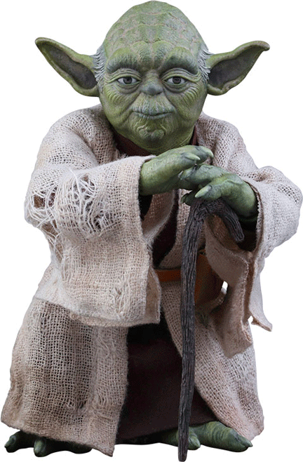 Yoda Movie Masterpice actionfigur – Hot Toys