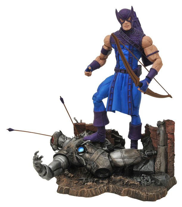 Classic Hawkeye actionfigur – Marvel Select