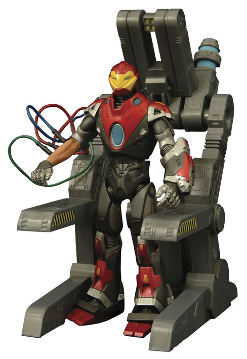 Ultimate Iron Man actionfigur – Marvel Select