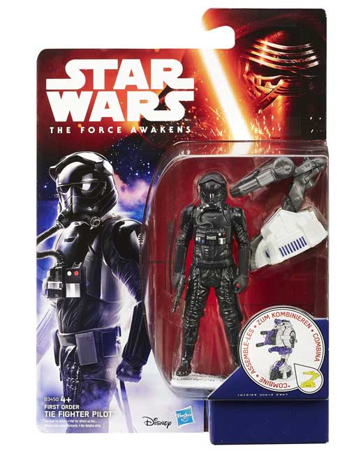 First Order TIE Fighter Pilot Actionfigur – Star Wars Jungle Space