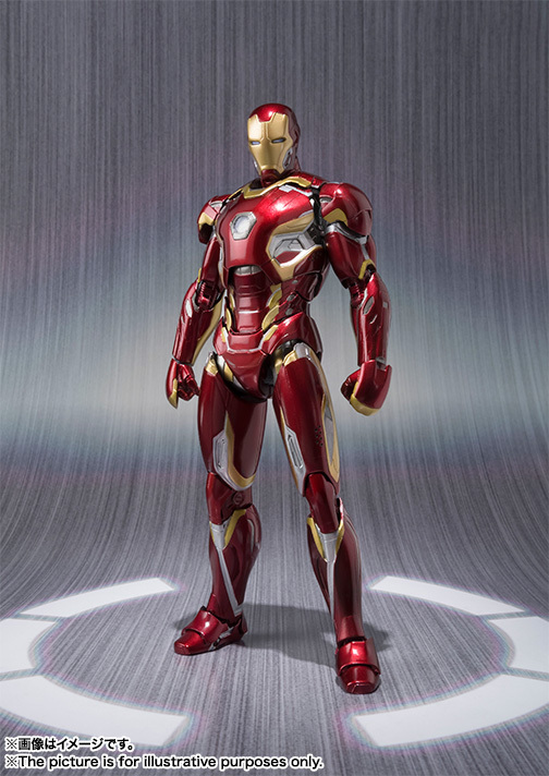 Iron Man Mark 45 – Sh FigurArts Avengers Actionfigur