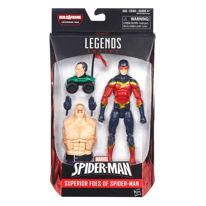 Speed Demon actionfigur – Marvel Legends Spider-Man