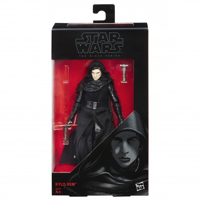 Kylo Ren Unmasked Actionfigur – Rogue One The Black Series