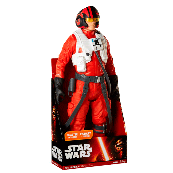 Star Wars Poe Dameron actionfigur 45 cm