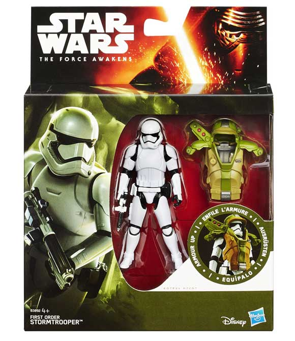 First Order Stortmtrooper Armor Up Actionfigur – 10 cm 2015 Wave 1