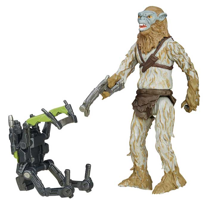 Hassk Thug Actionfigur – Star Wars Jungle Space 2016