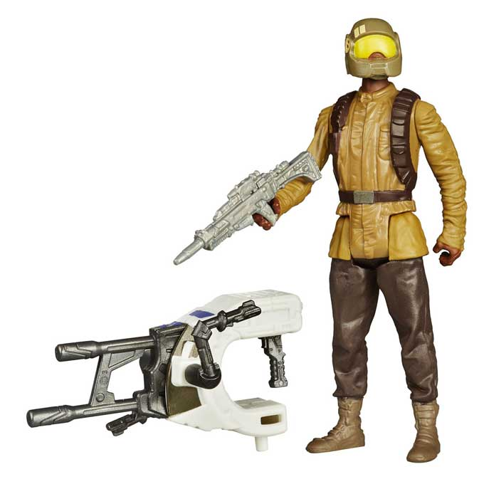 Resistance Trooper Actionfigur – Star Wars Jungle Space 2016