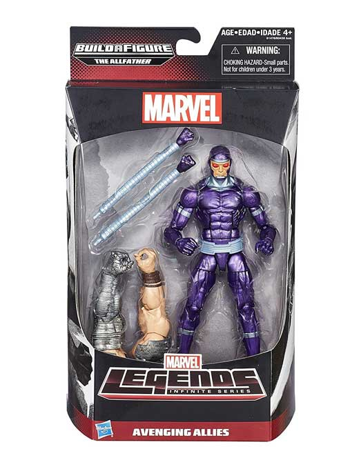 Machine Man – Avengers Marvel Legends Infinite Actionfigur Wave 1