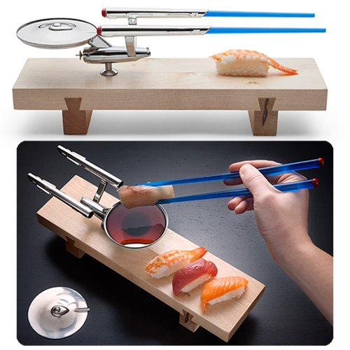 Star Trek U.S.S. Enterprise NCC – 1701 Sushi Set