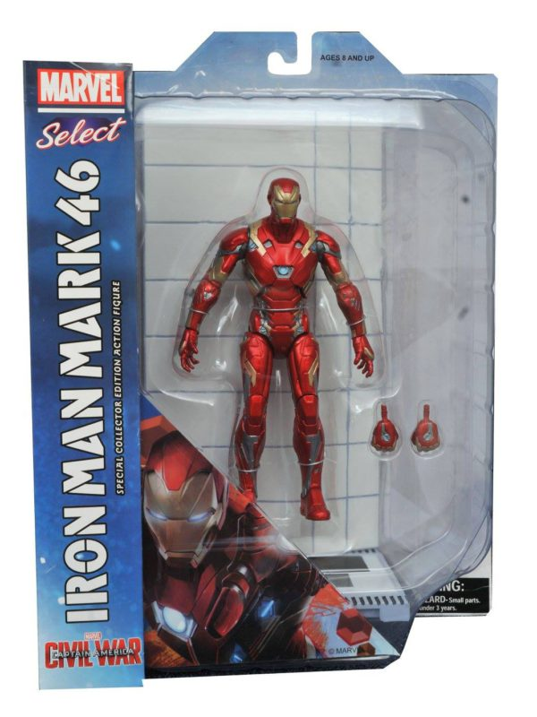 Iron Man Mark 46 Actionfigur – Marvel Select