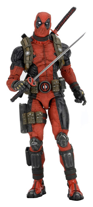 Deadpool Neca Marvel Actionfigur 1/4 skala
