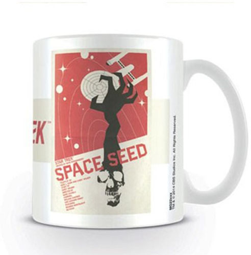 Star Trek Mugg Space Seed – Ortiz
