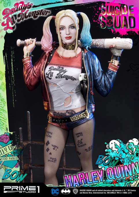 Harley Quinn Exluisive Suicide Squad Prime 1 Staty 1/3